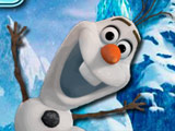 game Frozen Olaf  Bejeweled