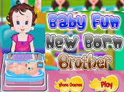 game Lisi New Born Brother