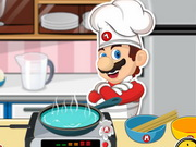 game Mario Cooking Noodle
