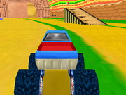 game Mario Monster Truck 3d