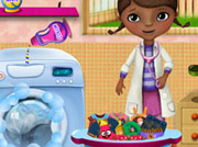 game Mcstuffins Washing Clothes
