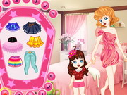 game Mother And Daughter Dressup