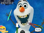 game Olaf At The Dentist