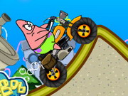 game Patrick Star Climb Over Mountain