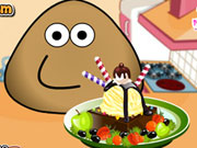 game Pou Ice Cream Decoration