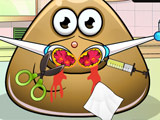 game Pou nose doctor