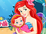 game Pregnant Ariel Gives Birth