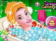 game Princess Belle Enchanting Makeover