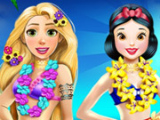game Rapunzel And Snow White Summer Break