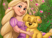 game Rapunzel pet care