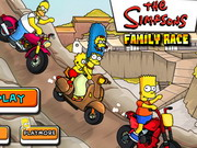 game Simpsons Family Race