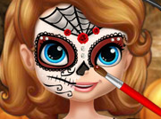 game Sofia Halloween Face Art Profile