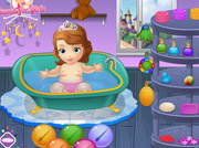 game Sofia the First Bathing