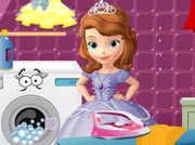 game SOFIA THE FIRST IRONING