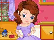 game Sofia The First Room Cleaning