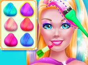 game Super Barbie Hair And Makeup