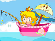 game Super Princess Peach Fishing