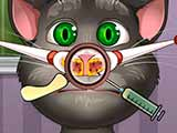 game Talking tom nose doctor
