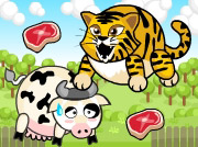game TIGER EAT COW