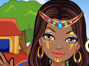 game Tribal Princess Makeover