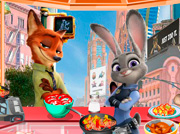 game Zootopia House Cleaning